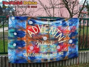 Adventní jarmark na ZŠ waldorfská se odehrál v sobotu prvního prosince
