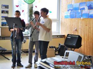 Po celý jarmark vystupovaly hudebně nadané děti