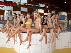 Finalistky Maturantky Roku  2012 si užívaly v Aquaworldu Lipno