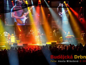 Koncert slovenské kapely Elán v Budvar Aréně