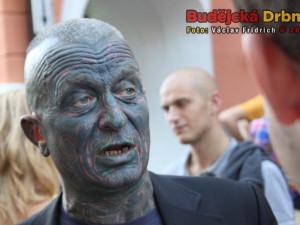 Prezidentský kandidát Vladimír Franz přijel do Budějc