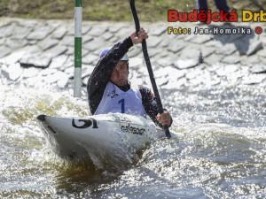 Vavřinek Hradilek při slalomových závodech v Českém Vrbném