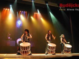 Yamato, nejlepší bubeníci na světě, zavítali do Českých Budějovic