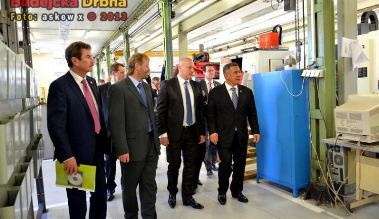 Návštěva prezidenta Tatarstánu v Jihočeském kraji