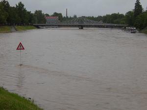 Jez u Dlouhého mostu. Foto Václav Švejda