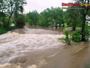 Povodně v Kaplici 2013