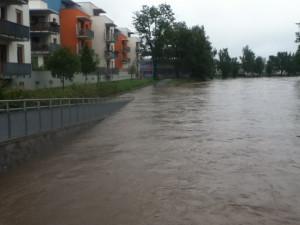 Nedaleko fotbalového stadionu Dynama. Foto Jakub Matoušek