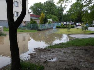 Veselí nad Lužnicí, Na benátkach směrem na Žíšov. Foto Veronika Žáková