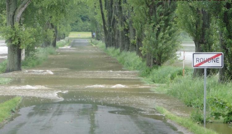 Cesta z Roudného do Vidova