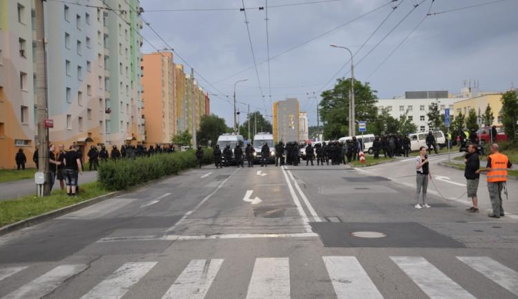 Demonstrace 2 v Českých Budějovicích, sídliště Máj, foto: Jakub Lošek