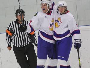 Historicky první gól Admiralu Vladivostok vstřelil Švéd Richard Gynge (vlevo)