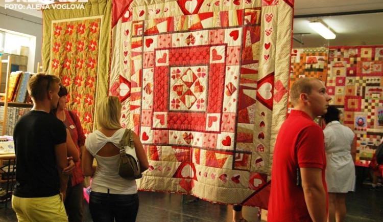Příchozí obdivovali nádherná patchworková díla