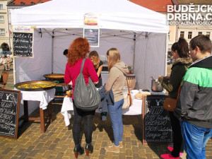 Španělské dobroty se podávaly na budějckém náměstí