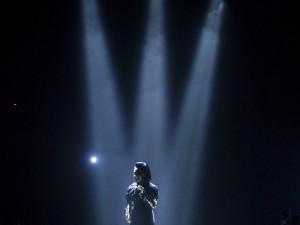 Koncert Lucie Bílé v Budvar Aréně