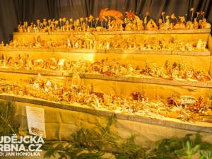 Betlém z chlebového těsta