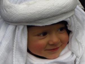 Náš malý Ježíšek ze Živého betléma. Soutěží Jarmila Hašková a Adámek