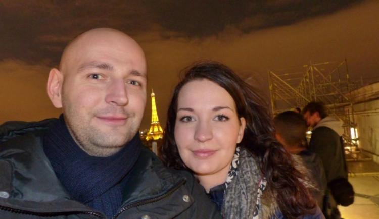 S mým snoubencem v Paříži. Soutěží Simona Peterová