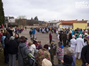 Masopustní průvod dětí v Lišově