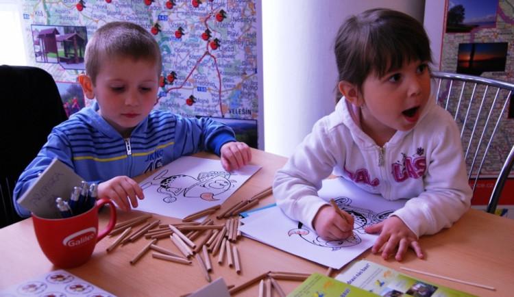 Děti se na kompase dobře bavily