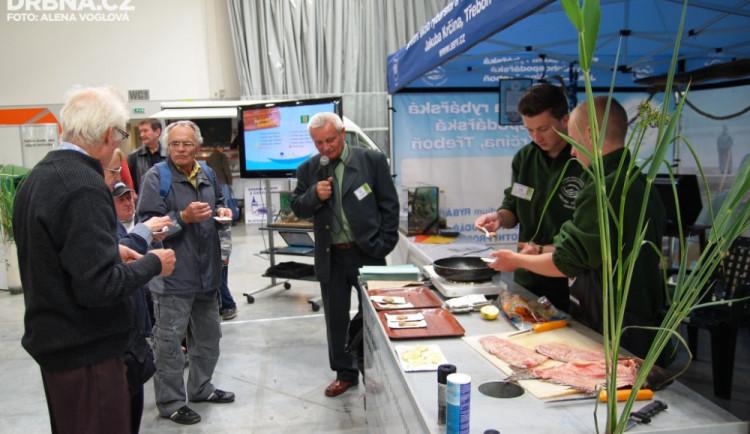 Rybí speciality připravovali odborníci z Třeboně