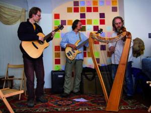 Trio de Compostela. Foto David Veis