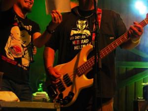 Magora zastupoval člen kapely MZH