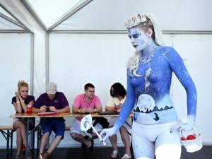 Bodypaintingový festival ve Frymburku