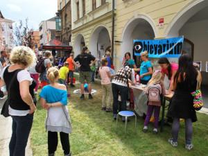 Zábavu pro děti připravilo i Objevárium