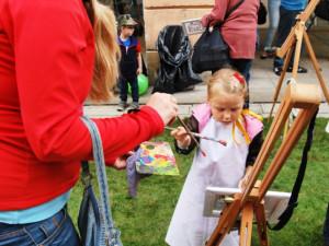 Nejvíce se na festivale vyřádily děti