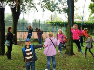 Lannové centrum připravilo pro děti spoustu atrakcí