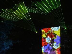 Prostorová multimediální show Bouře