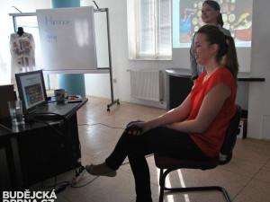Korejským večerem provázely Monika Čechová a Dita Schönbeková