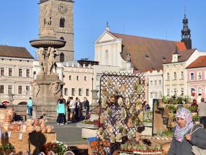 Švestkové trhy na náměstí Přemysla Otakara II.