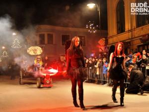 Krampus show Kaplice 2014