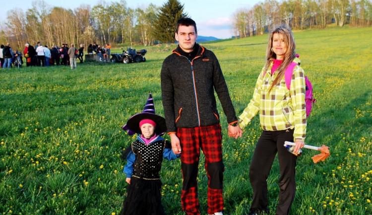 Na Suchý vrch dorazily hlavně rodiny s malými dětmi
