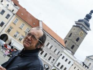 Mojmír Obdržálek provádí Budějčáky po svých trasách
