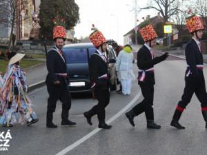 Masopust v Černé v Pošumaví