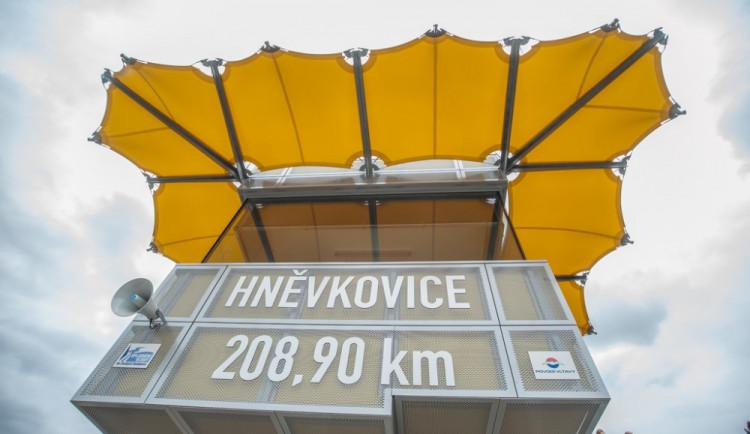 Otevření plavební komory Hněvkovice