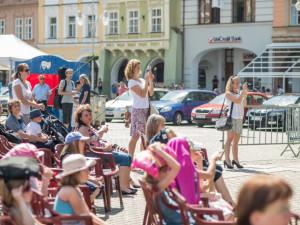 Happening ZUŠ Open v Českých Budějovicích.