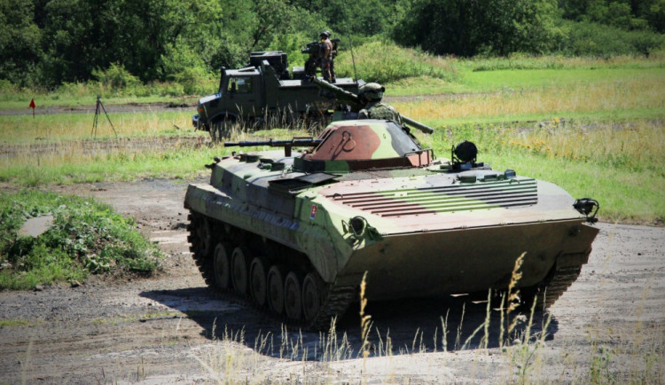 Bojové střelby ukončily taktické cvičení zaměřené na integrovanou protivzdušnou obranu NATO
