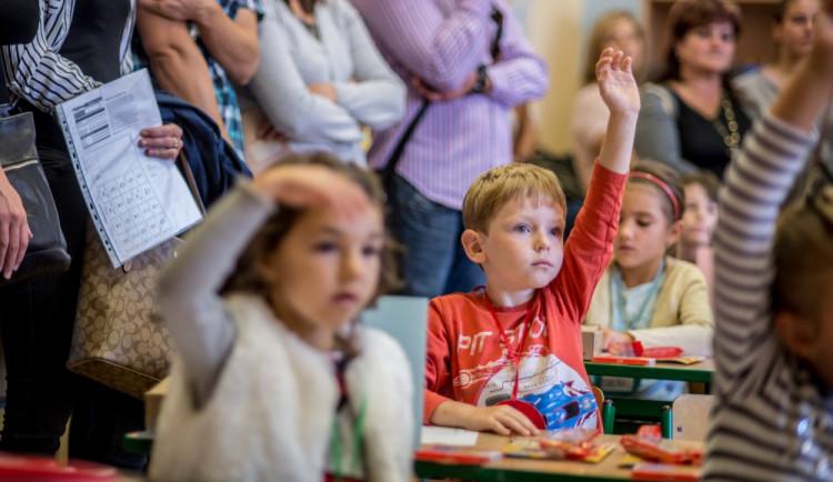 První školní den v českobudějovických školách
