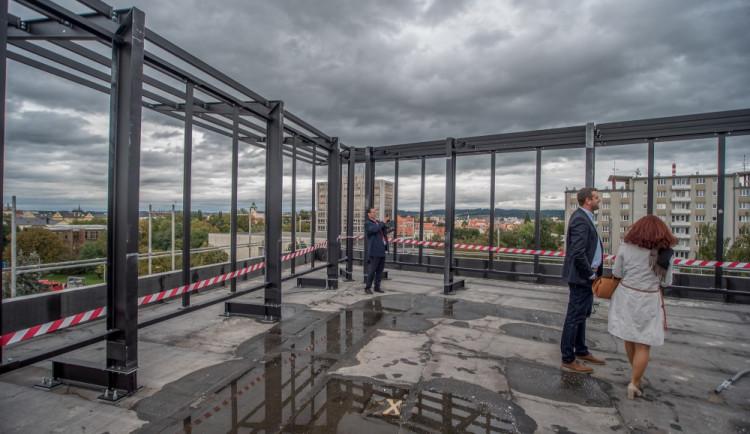 Dokončení hrubé stavby Piana