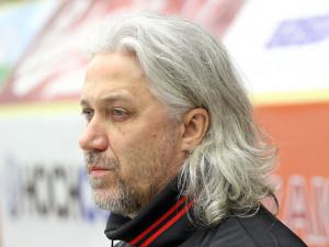 Kouč českobudějovických brankářů Stanislav Hrubec