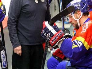 Úprava hokejky v podání Petra Vampoly