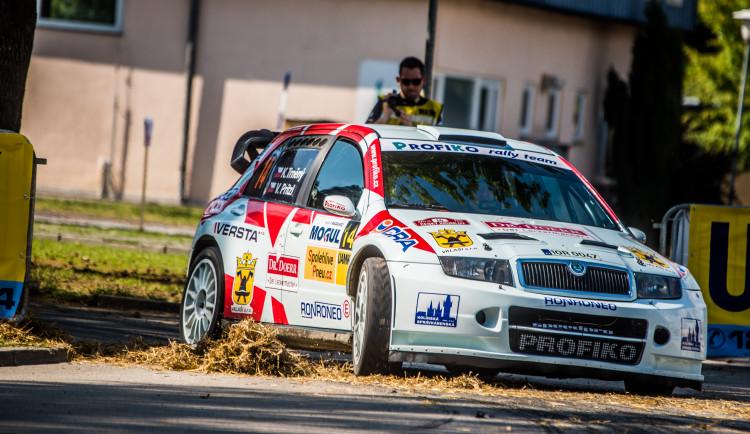46. Rallye Český Krumlov - erzeta na budějckém výstavišti