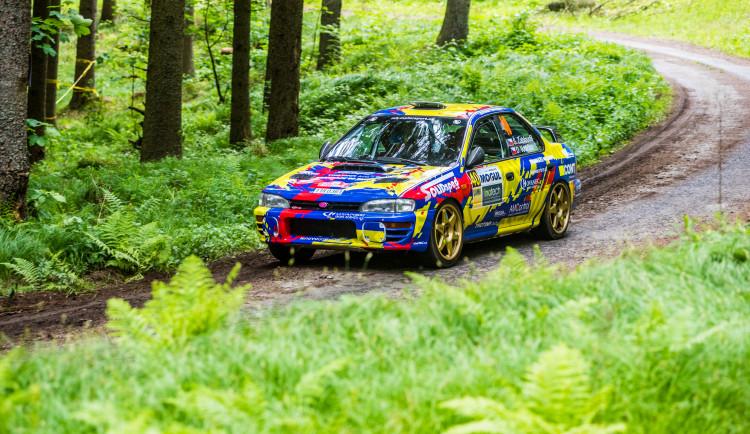 46. Rallye Český Krumlov - erzety Malonty a Rožmberk