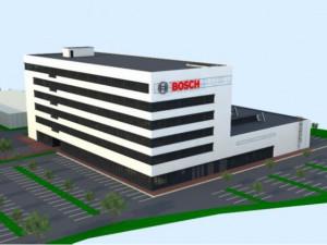 Vizualizace nového Technologického a vývojového centra společnosti Robert Bosch.