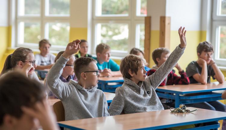 Zahájení školního roku 2018/2019 v ZŠ Oskara Nedbala v Českých Budějovicích