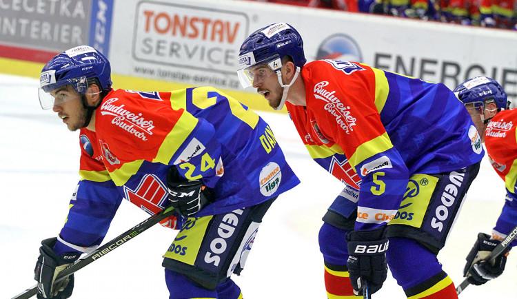 Domácí duo Milan Dančišin (vlevo) a Karel Plášil