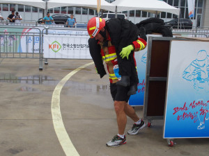 Jihočeští hasiči na Světových hasičských hrách v Jižní Koreji